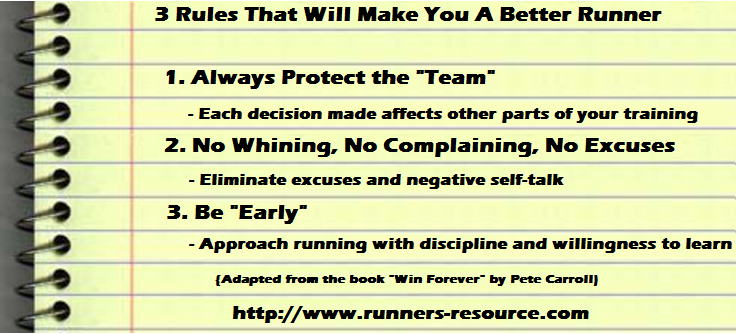 Three Rules That Will Make You a Better Runner